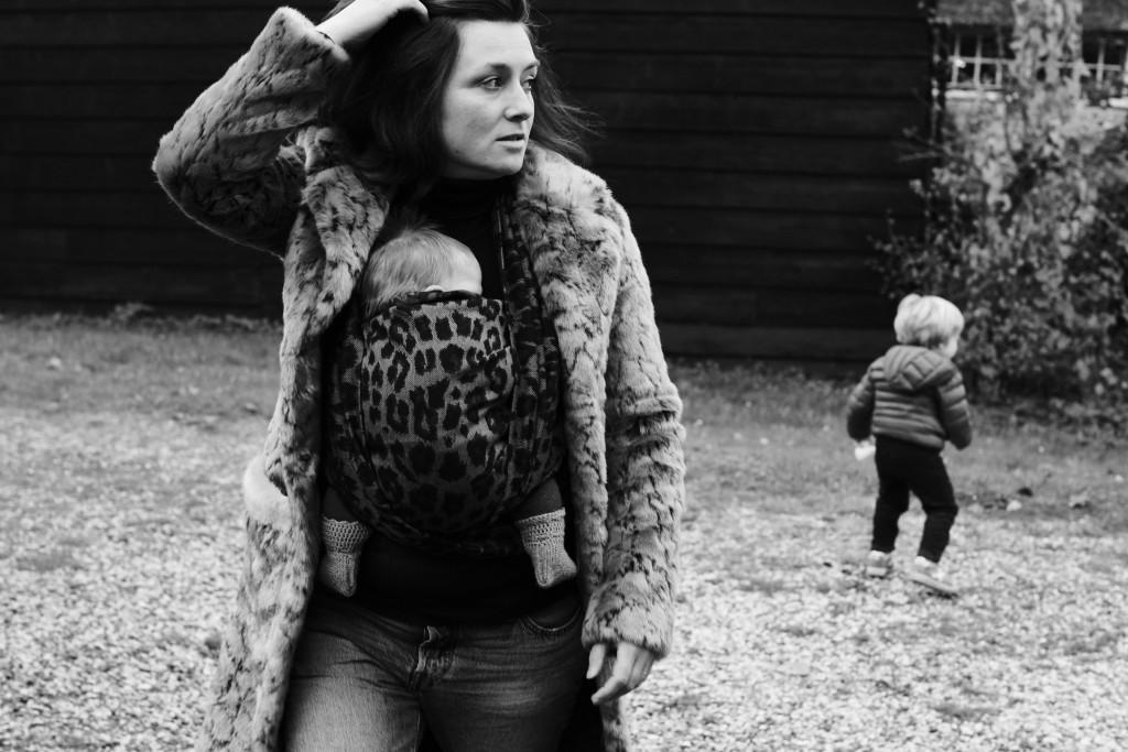Anna van den Bogert in Artipoppe Leopard