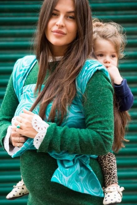 About style, love and how motherhood changed her.