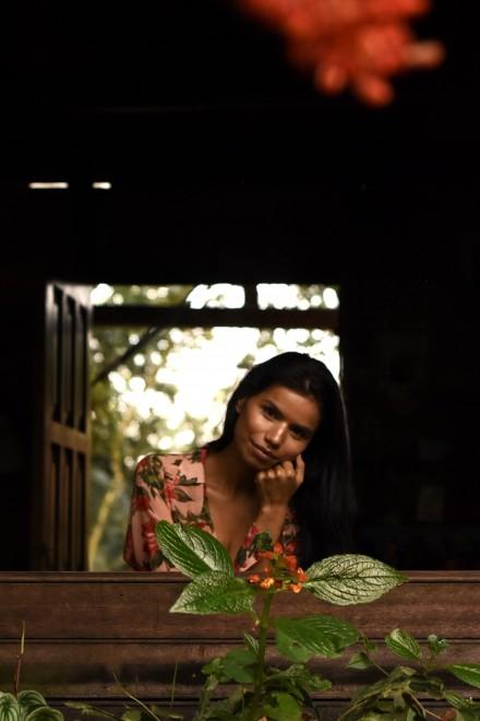 Portrait Nina Gualinga